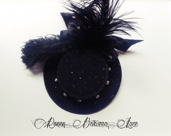 Burlesque /Pin Up style Mini Hat