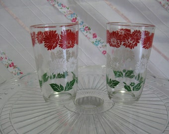 Vintage juice glasses