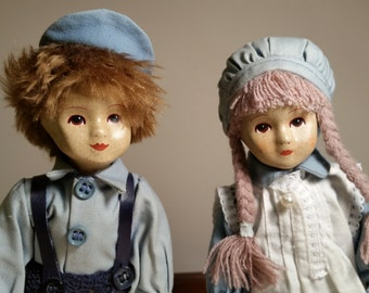 Holland Boy and Girl Dolls