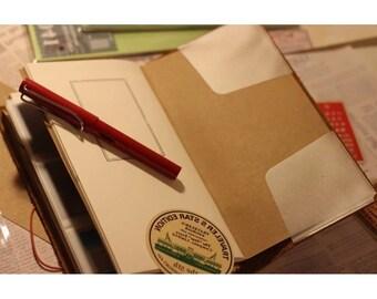 Traveler's notebook inserts stickers