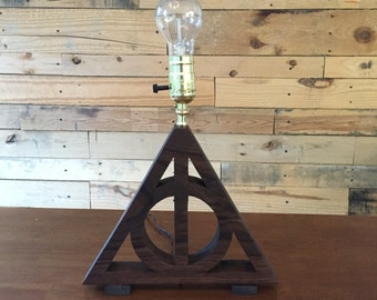 Deathly Hallows Lamp