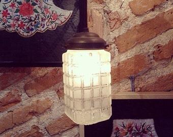 Antique industrial lamp