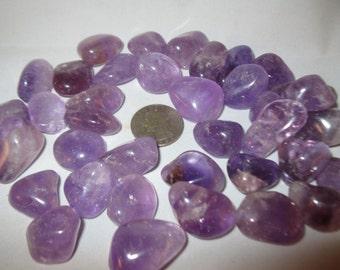 Amethyst Tumbled Stones #T1
