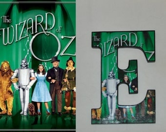 Wizard of Oz Wood Letters