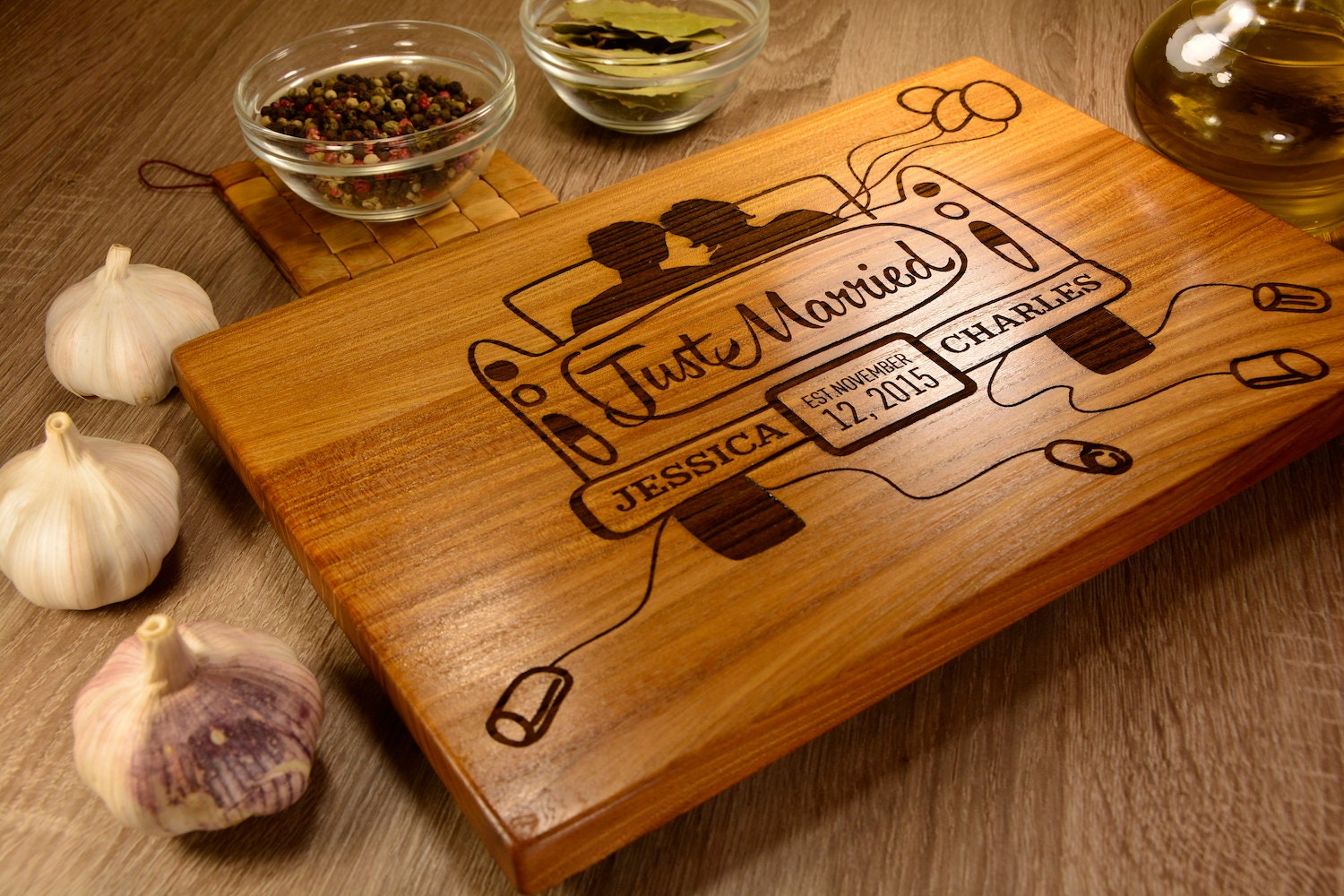 Personalized Cutting Boards ~ Engrave cutting board custom gift
