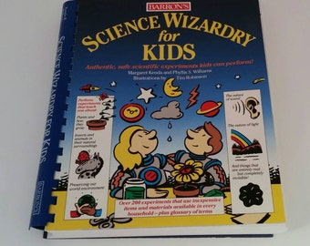 Science Experiment Book for Children with GeoScope, Science Wizardry for Kids