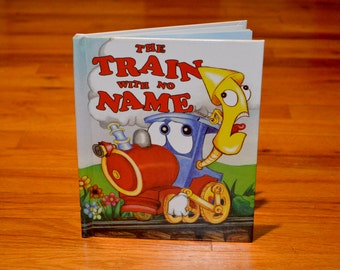 Train With no Name Personalized Book