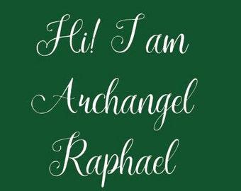 Archangel Small Fact Sheet - Archangel Raphael - Archangel Colors - Archangel Expertise - Angel Crystal - Angel Protection -