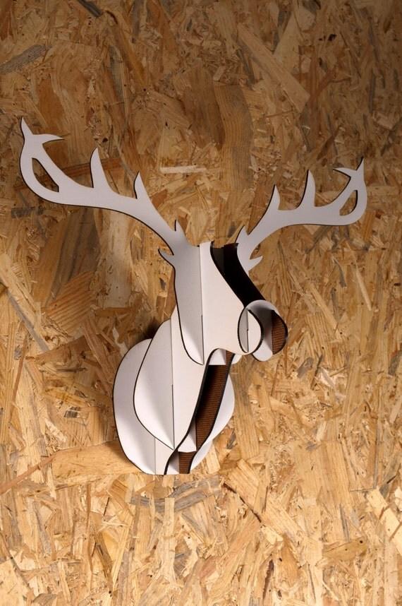Cabeza de ciervo de madera for Cabeza de ciervo