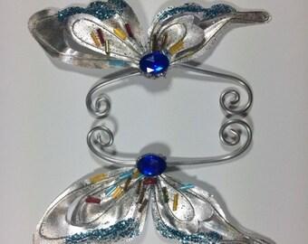 Silver Fairy Earwings Ear Wings Earcuffs Fairy Wings Butterfly Wings Costume Wings