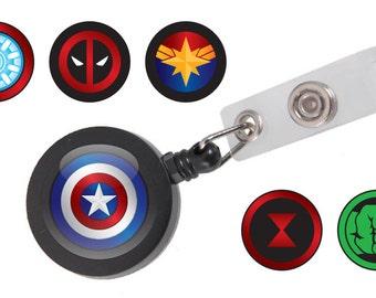 Marvel ID Badge Reel