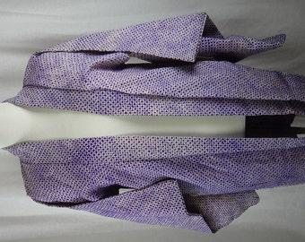 Vintage Kimono Haori Purple Silk