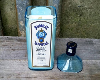 Extra Large Bombay Sapphire Gin Candle