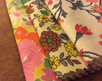 Vintage Flowered Fabric