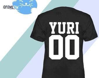 Yuri Jersey Style 00 Anime T-Shirt