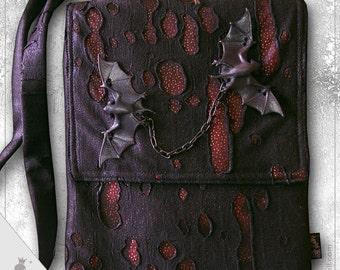 """Shoulder bag  """"Vlad"""" - Gothic Style shoulder bag"""