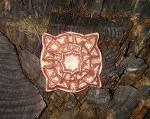 Recycled Copper Celtic Knot Repoussé Pendant
