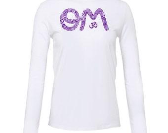 Yoga Shirt - Yoga Clothing - Yoga Long Sleeve Shirt - OM