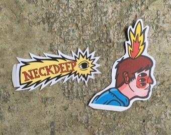 Neck Deep Stickers