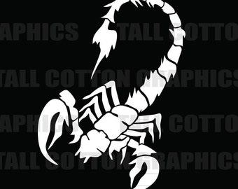 Scorpion Vinyl Decal  - #BS018