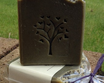 Hemp and Nettle Natural Handmade Vegan Soap Bar