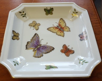 Andrea Sadek Square Butterfly Candy Dish
