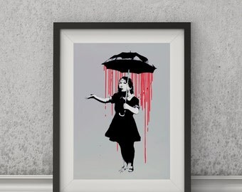 Nola by Banksy Art Print