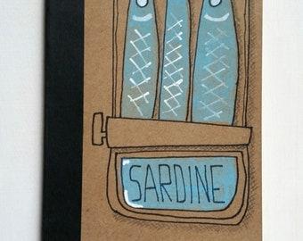 Mini notebook SARDINES