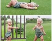Little Boy Romper Easy PDF Pattern sizes newborn to 3T Instant DOWNLOAD: PDF Pattern, Baby Romper Pattern, Romper toddler, Sewing Pattern
