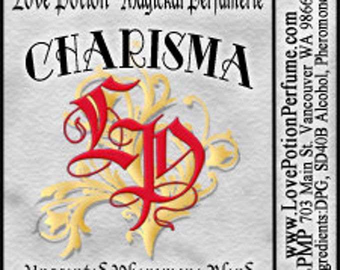 PHEROTINE! Charisma for Men ~ Pheromone Blend - Limited Ed UNscented Pheromone Trials by Love Potion Magickal Perfumerie