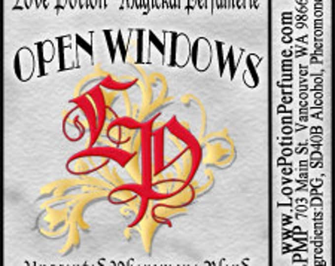 PHEROTINE! Open Windows ~ Unisex Pheromone Blend - Limited Ed UNscented Pheromone Trials by Love Potion Magickal Perfumerie