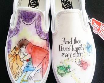 Disney's Sleeping Beauty Prince Charming True Loves Kiss Shoes!