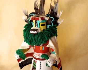 "Hopi Badger Kachina Signed - 16"" Tall"