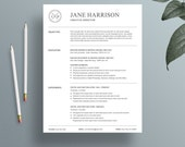 Resume Template - Cover Letter Template - MS Word Resume Template - CV Template - iWork Pages Resume Template - Professional Resume Resume
