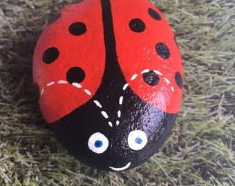 Painted Pebble Ladybug/Ladybird/Insect
