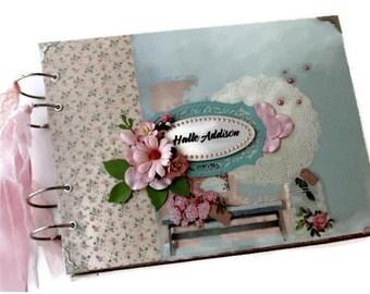 Baby Memory Album - Best Newborn Gift - Baby Memory Book - Baby Keepsake Book - Baby Scrapbook Album - Baby Shower Gift - Baby Photo Album