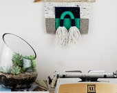 Woven Wall Hanging / Weaving / Color Block / Fringe