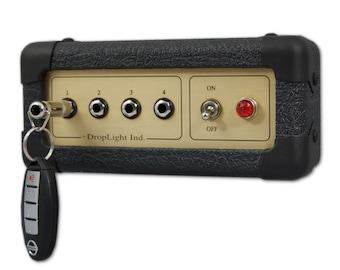 Key Rack / Wall-mounted Key Rack / Guitar Amp Key Rack / Gift for Guitar Player