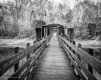Foot Bridge at Tims Ford Lake