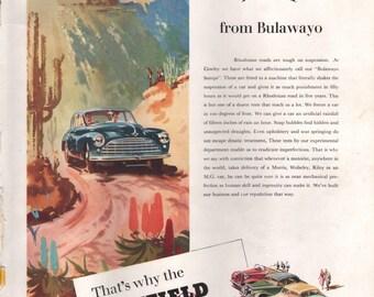 "Vintage ""Nuffield"" Car Advert 1952"