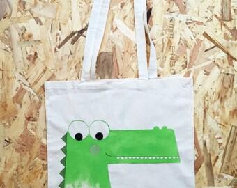 Cloth bag: even then crocodile