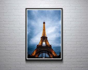 Paris Photograph, Eiffel Tower Print, France, Travel, Landscape, Art Print, Travel, Wall Art, Home Decor