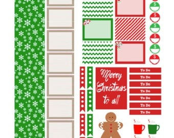 Cheery Christmas Printable Kit for the Plum Paper Student Planner