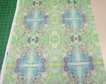 Kaleidoscope fabric. inspirational purple green quilt quilting cotton Quilting Treasures Desiree's Designs