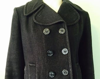 Timeless Vintage Pea Coat