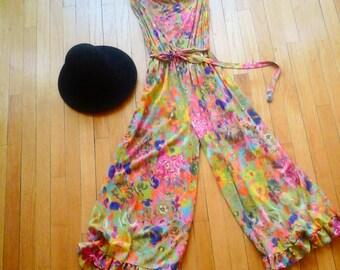 hippie floral jumper