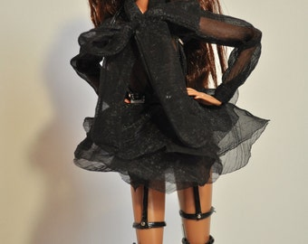 OOAK dress and swordbelts for Fashion Royalty (FR 2)