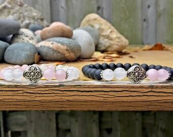 Couples Bracelet, Healing Bracelet, Boyfriend and Girlfriend Bracelet, Relationship, Couples Jewelry, Valentines Day Gift, Love Bracelet
