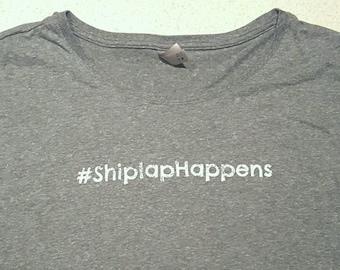 Shiplap Happens T-Shirt - Woman's Dolman Sleeve T-shirt #shiplaphappens