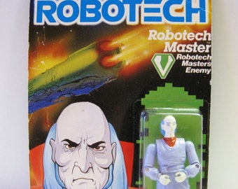 Robotech Master Action Figure Zentraedi Enemy Elders Masters of Robotechnology 1985 Matchbox Toy Plastic Anime TV Series Figure MOC